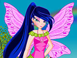 Муза Винкс на прогулке (Winx Musa Outing Dressup)