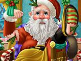 Играть помоги жене санты приготовить подарки 34
