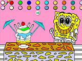 Игры раскраски от губки боба