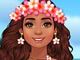 Моана принцесса острова