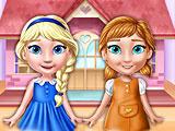 Кукольный домик Эльзы Анны