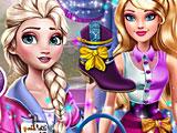 Принцессы Диснея: Эльза модный советник Барби
