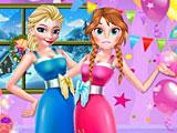 Эльза и Анна День благодарения