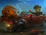 Лего машины метеорит