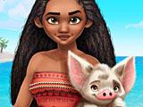 Моана принцесса Полинезии