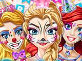 Дни рождения принцесс Диснея: рисунки на лице
