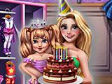 Прохождение игры Рапунцель день рождения дочери