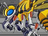 Робот трансформер пчела