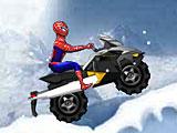 Человек паук: гонки на скутере