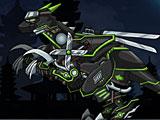 Роботы динозавры: ниндзя Велоцираптор