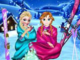 Зимние выходные Эльзы и Анны