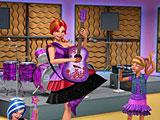Барби принцесса и рок звезда