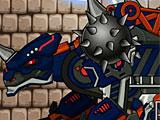 Роботы динозавры Сколозавр