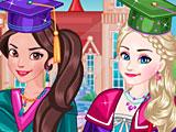 Принцессы Диснея селфи Эльзы и Елены