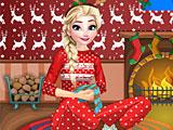 Холодное сердце новогодняя ночь Эльзы