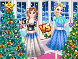 Новогодние ёлки Эльзы и Анны