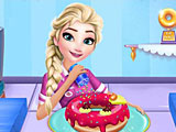 Холодное сердце: магазин пончиков Эльзы