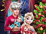 Семейный Новый год Эльзы