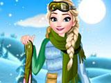 Приключения Эльзы зимой