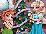 Холодное сердце Эльза и Анна: украшение елки