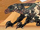 Трансформеры роботы динозавры: ремонт Галлимим