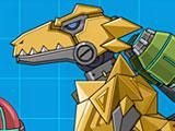 Роботы динозавры Мегалозавр