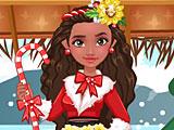 Моана на Новый год