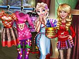 Принцессы Диснея новогодний сюрприз