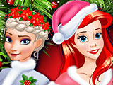 Прохождение игры Принцессы Диснея Новый год лучших подружек