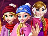 Прохождение игры Принцессы Диснея селфи Новый год