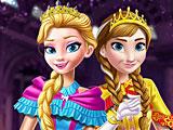 Холодное сердце день коронации Эльзы