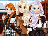 Прохождение игры Принцессы Диснея зимние дни