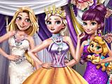 Принцессы Диснея королевский зимний бал