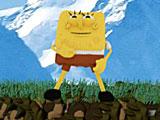 Губка Боб квадратные штаны собирает звезды