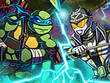 Черепашки ниндзя против могучих рейнджеров битва героев