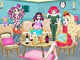 Эвер Афтер Хай пижамная вечеринка