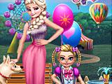 Холодное сердце: день рождения малышки принцессы