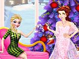 Принцессы Диснея Рождество