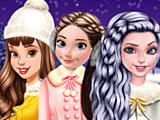 Прохождение игры Принцессы Диснея катаются на коньках