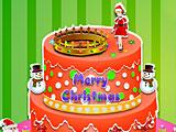 Принцессы Диснея новогодний торт