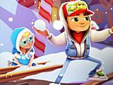 Сабвей серф зимние каникулы