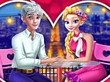 Романтическое свидание Эльзы и Джека на День Валентина