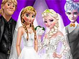 Холодное сердце двойная свадьба принцесс