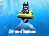 Лего Бэтмен гонщик на дельфине
