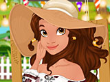 Принцессы Диснея вечеринка в саду Моаны