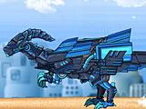 Роботы динозавры ниндзя Парейазавр