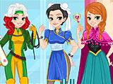 Прохождение игры Принцессы Диснея косплей лукбук