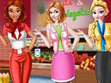 Прохождение игры Принцессы Диснея менеджеры супермаркета