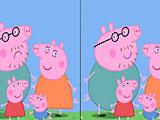 Свинка Пеппа найди отличия