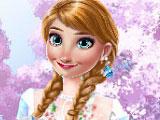 Холодное сердце весенние наряды Анны